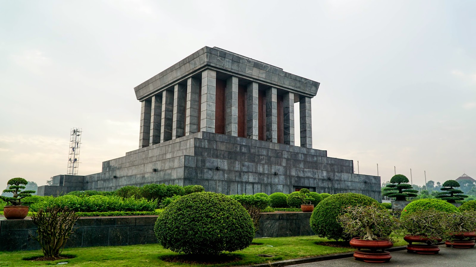 Ho Chi Minh mausoleum, the last resting place of one of Vietnam's most prominent figures