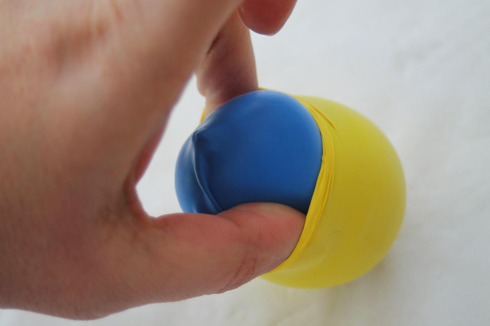 gonfler des ballons de baudruche
