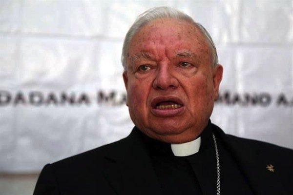 """""""Encubrió pederastas hasta que se lo prohibieron"""": Cardenal mexicano."""