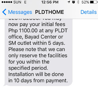 LEGIT PLDT TEXT MESSAGE