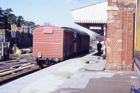 Gosport freight at Fareham