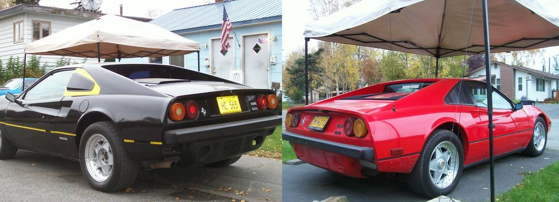 Daily turismo two fauxrarri kit cars 19856 pontiac fiero fake first up is the black fiero that is supposed to be a 1986 ferrari 328 gts it actually does a pretty convincing job of looking like a ferrari sciox Gallery