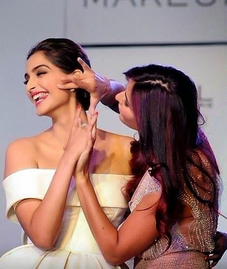 Sonam Kapoor and Katrina Kaif Unveil L'Oreal Paris's New Cannes Collection