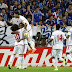 """فريق الإمارات أمام  تايلاندا في ملعب """"راجا مانغالا"""" في العاصمة التايلاندية"""