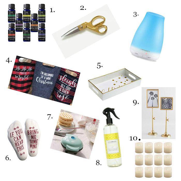 20 Hostess Gift Ideas For Christmas - Under $20 - shabbyfufublog.com
