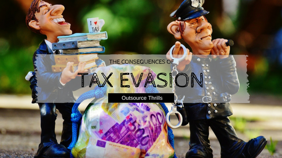 the negative consequences of tax evasion The case of tax avoidance and evasion kay blaufus with detection risk, negative detection consequences, and implicit monitoring (penalties in the case of.