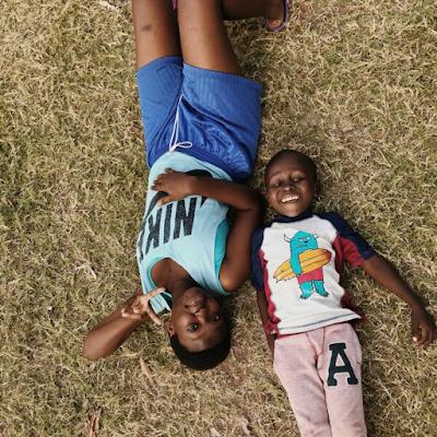 Esther en el proyecto de Mombassa