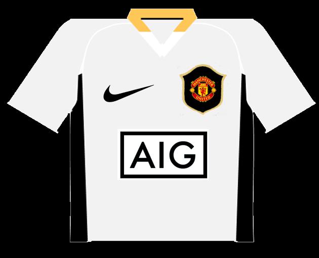 5738f37a0 todas las camisetas de Cristiano Ronaldo. 4 GOLES MARCADOS (1 GOL EN 2007 08 )
