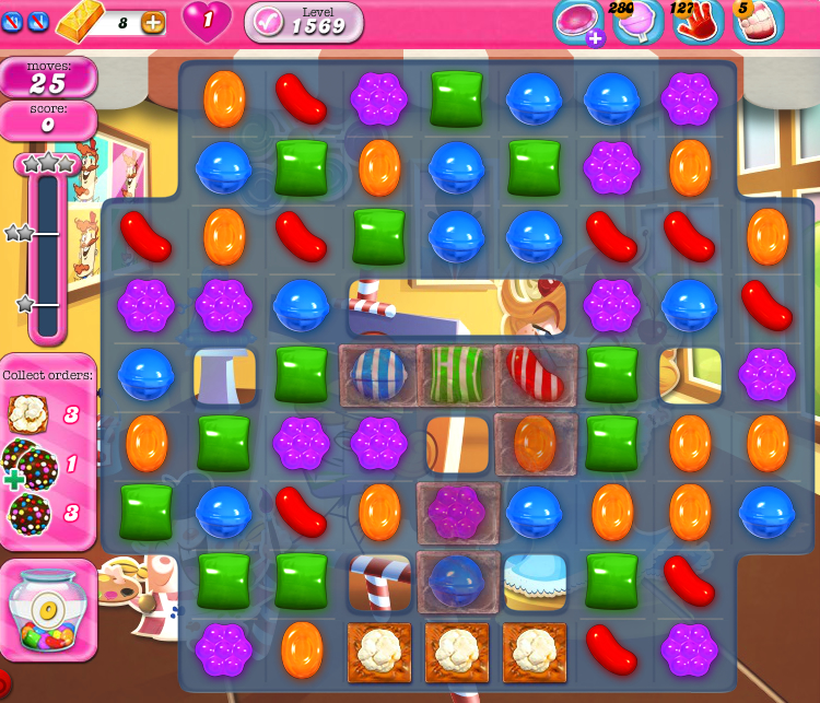 Candy Crush Saga 1569