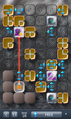 Solution for Laser Box - Puzzle (Final) Level 16