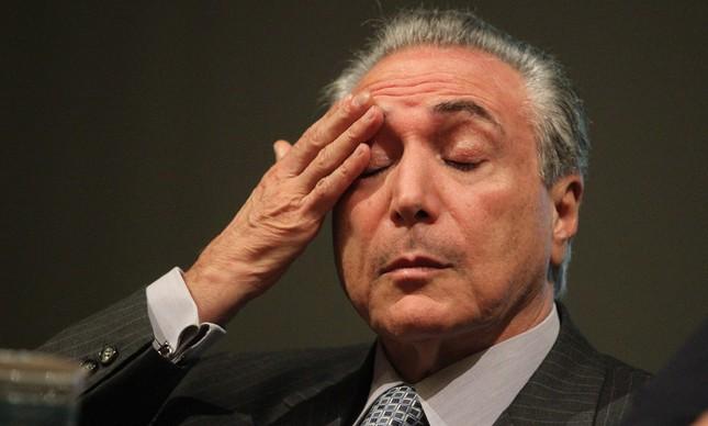 O presidente Temer anunciou hoje o pacote de medidas para salvar o Brasil