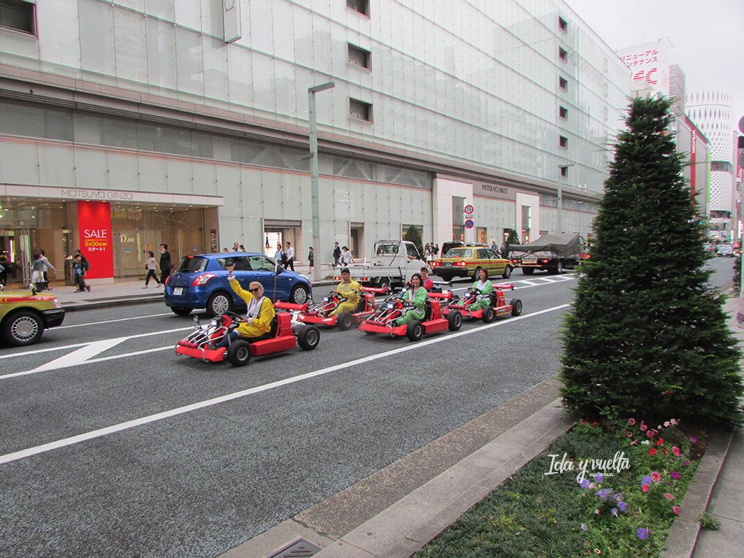 Karts por el centro de Tokio