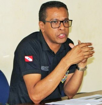 Resultado de imagem para delegado Vicente Gomes, superintendência da polícia civil do Pará na região do Tapajós