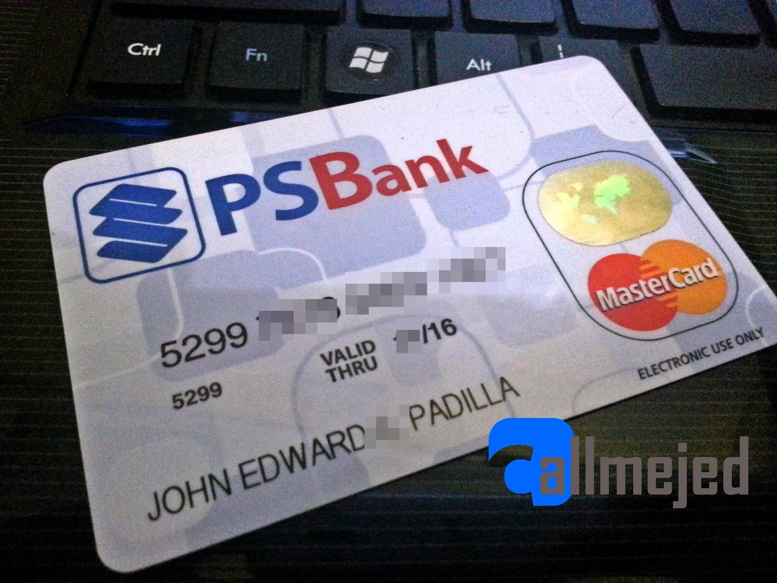 thewalkingjed psbank debit mastercard review