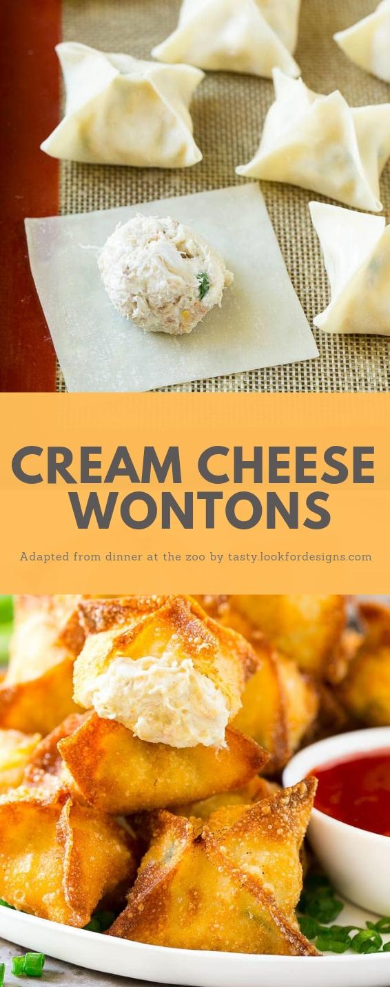 Cream Cheese Wontons Recipe