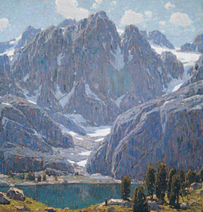 Mountain Art Painting by Edgar Payne