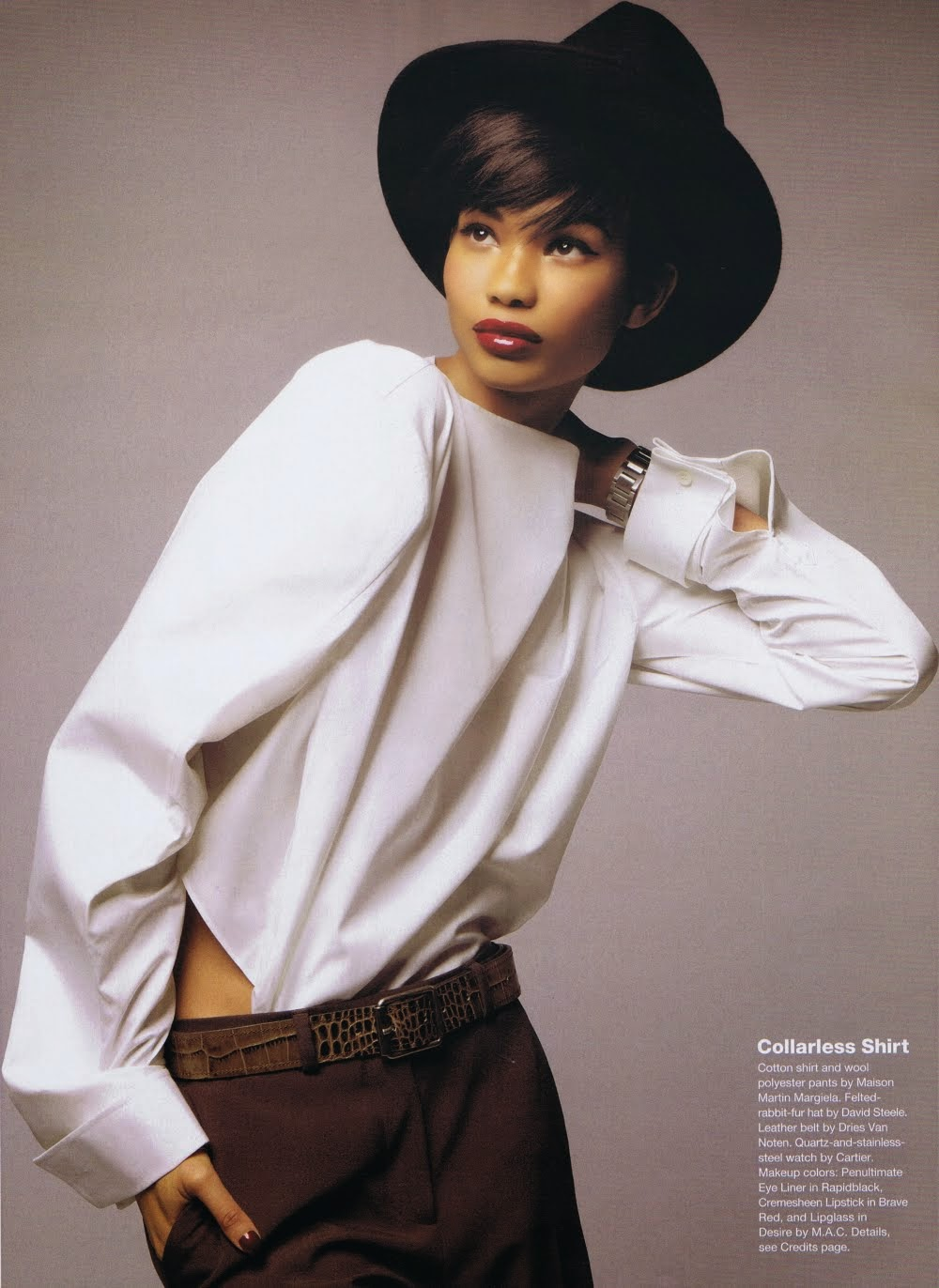 Chanel Iman by Thomas Schenk for Allure September 2010 | Ses Rêveries