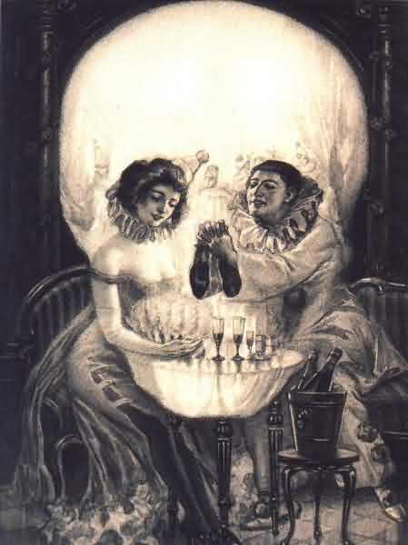Vintage Skulls 117