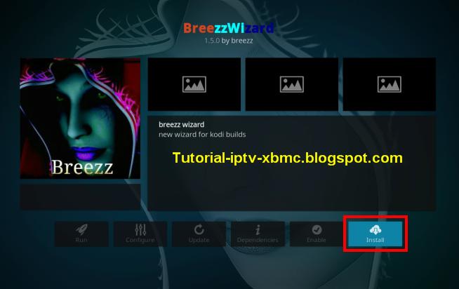 Guide Install Breezz Base Build Wizard 18 Leia - New Kodi Addons