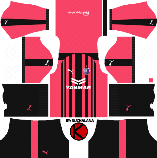 Kit pumas dream league soccer 2019