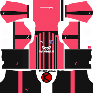 Cerezo Osaka セレッソ大阪 Kits 2018 - Dream League Soccer Kits
