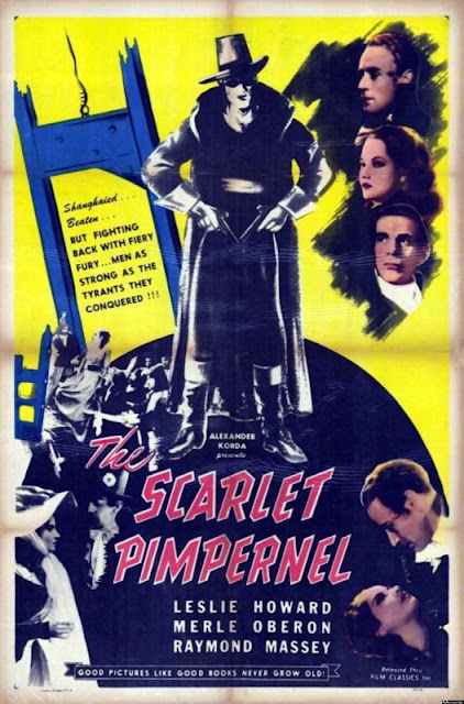 The Scarlet Pimpernel - The First Superhero?