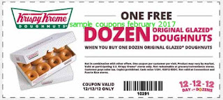 Krispy Kreme coupons february