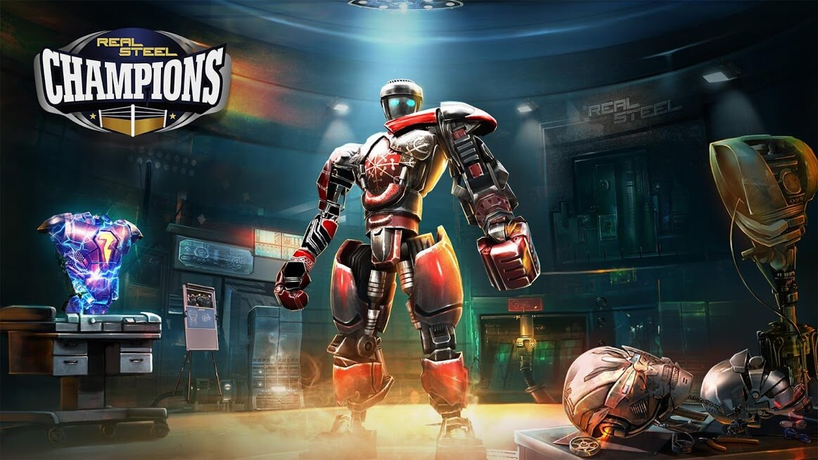 Real Steel Boxing Champions MOD Dinheiro Infinito 2021 v 2.5.177