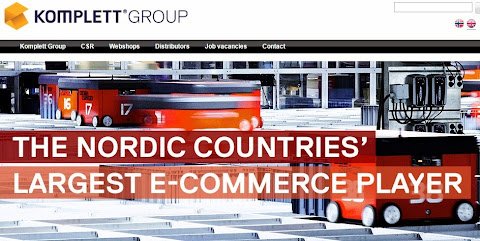 圖說: Komplett 是北歐最大電商,圖片來源: Komplett 網站截圖