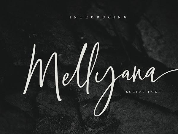 Mellyana Feminine Script Font Free Download