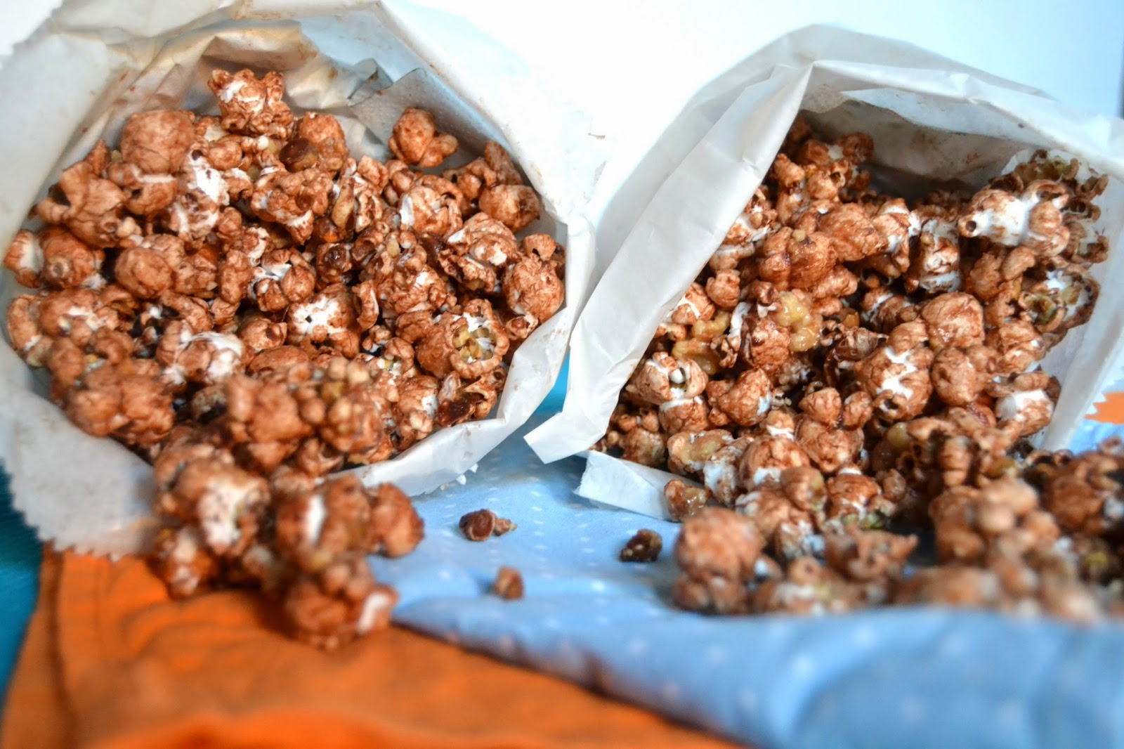 Chocolate Peanut Butter Popcorn
