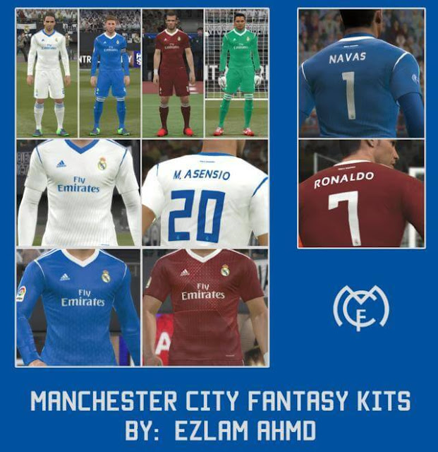Fantasy Kits Real Madrid PES 2017