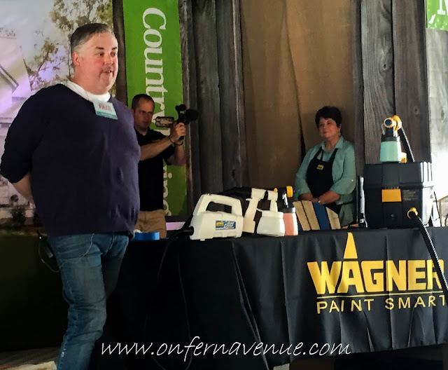 Wagner on Main Stage at Country Living Fair