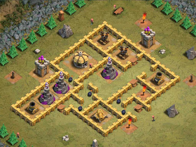 Goblin Base Clash of Clans Goblin Picnic