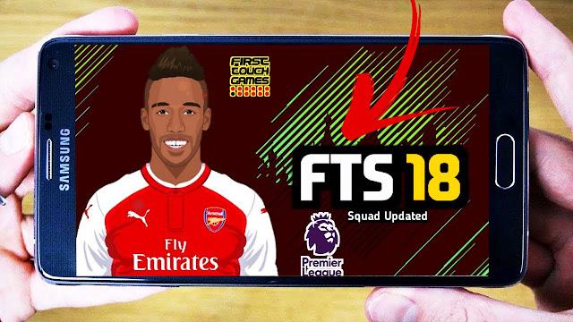 واخيرا تحميل لعبة FTS 2018 للاندرويد باخر الانتقالات والاطقم ( اوباميانغ.كوتينيو.سانشيز )