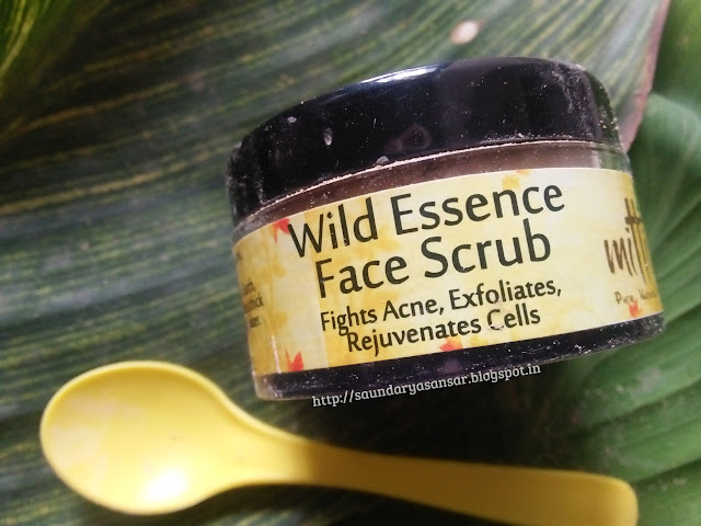 Mitti Se.Wild Essence Face Scrub Powder Review