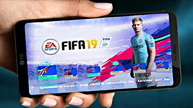 FIFA 19 MOD PES Android Offline 500 MB Real Faces Best Graphics