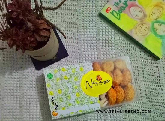 Nenasz Cookies, Si Renyah yang Rendah Gluten