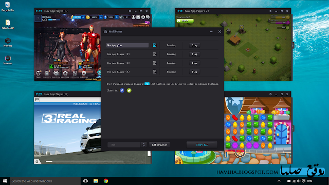 تحميل برنامج محاكي اندرويد نوكس بلاير Download Nox Player - موقع حملها