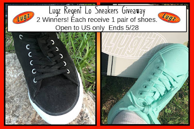 Enter the 2 Pairs of Lugz Regent Lo Women's Sneakers Giveaway. Ends 5/28
