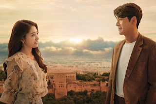 Memories Of The Alhambra, Korean Drama, Drama Korea, Korean Drama Memories Of The Alhambra, Popular Korean Drama, Filem dan Drama Bulan Februari Hingga Mac 2018, Review By Miss Banu, Blog Miss Banu Story, Ulasan, My Opinion, Cast, Pelakon Drama Korea Memories Of The Alhambra, Hyun Bin, Park Shin Hye, Chan Yeol, Park Hoon, Min Jin Woong, Kim Eui Sung, Poster Drama Korea Memories Of The Alhambra, Korean Style,