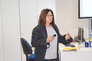 Foto da Professora Ana Paula António