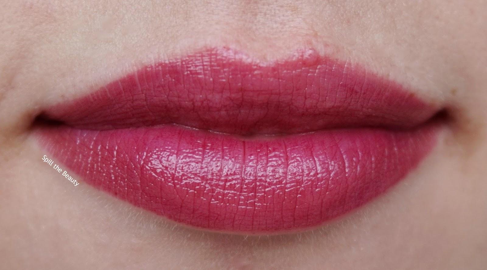lip swatch - dior lip addict lipstick black tie 987