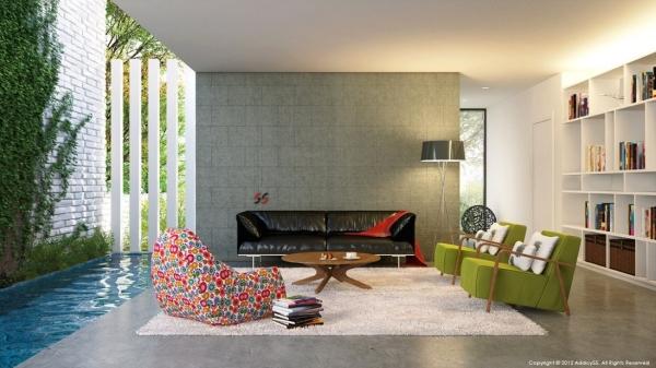 Hermosas fotos de salas modernas ideas para decorar for Decoraciones de casas modernas 2016