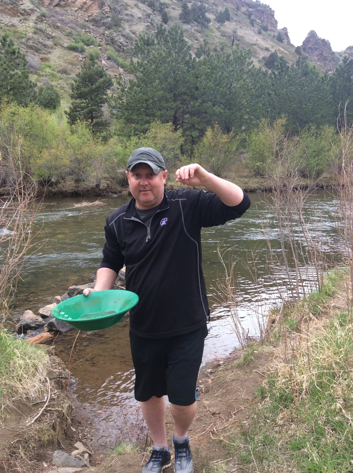 Texan Treks: Gold Prospecting from Denver up to Central City