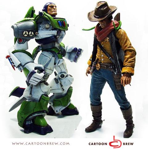 Así serían los personajes de las películas de Toy Story a41e6701128