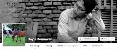 Facebookers, Bayu Romawan Update Status Bela Negara