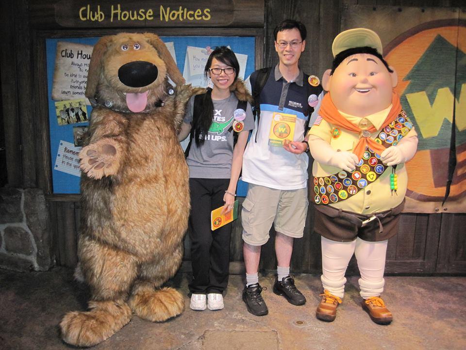 Disney Pixar UP Inspired Wilderness Explorer Costume Tutorial DIY