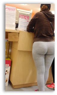 trasero grande redondo pants
