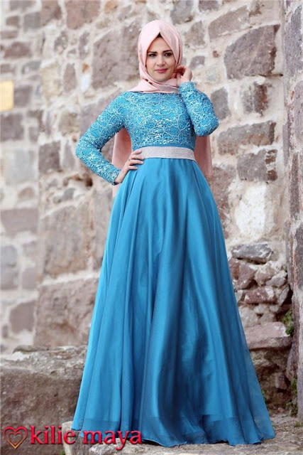 modern islamic evening dresses